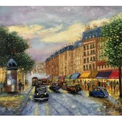 Paisagem Parisiense antiga