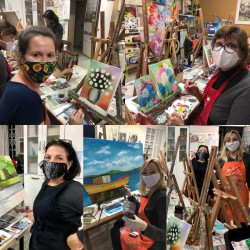 Aulas de Pintura - R$ 65,00